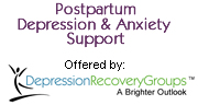 Post Partum Depression and Anxiety Support Groups
