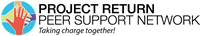 Logo:  Project Return Peer Support Network