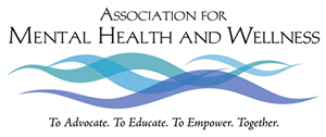 Logo:  Association for Mental Health and Wellness