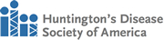 Logo:  Huntington's Disease Society of America