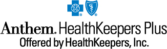 Logo: The Anthem HealthKeepers Plus plan