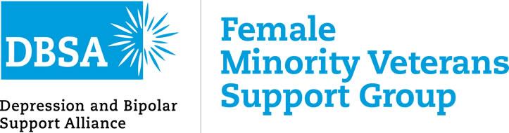 Logo:  DBSA Female Minority Veterans